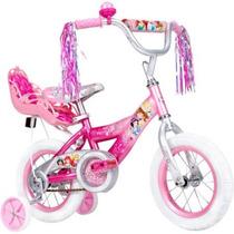 Bicicleta 12 Plg Huffy Disney Princess Girls 2 A 5 Años