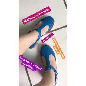 Melissa Kazakova Azul Marrom