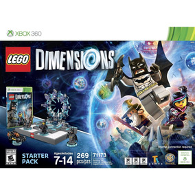 Lego Dimensions Starter Pack Xbox 360 Mídia Física Lacrado
