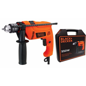 Taladro Percutor 550 W Black + Decker Hd555k