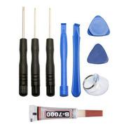 Kit Basico Herramientas Celulares + Pegamento B7000 3ml