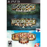 Bioshock Ps3 Collection | Digital Español 3 Juegos En 1