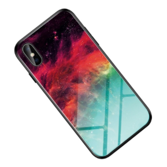 Funda Para Samsung Y Xiaomi Marble Style Tempered Glass