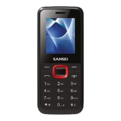Sansei S191 Dual SIM 3 MB negro/rojo 4 MB RAM