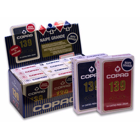 Caixa 12 Jogos De Cartas Copag 139 -naipe Grande- Desde1908