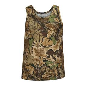 Camiseta Musculosa Camuflado Bosque Caza Táctica Militar 4d