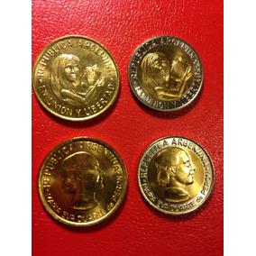Monedas Argentina: 50 Centavos-1 Peso(1996-1997) Serie