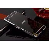 Capinha Bumper Espelhada Luxo Sony Xperia Z1 D6943 D6903 Top