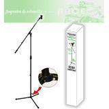 Atril Microfono Con Boom Mekse (metalico)