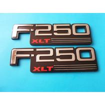 Emblemas F-250 Xlt Ford Camioneta