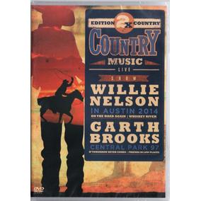 2x Country Dvd Willie Nelson & Garth Brooks Frete R$ 10,00