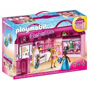 Playmobil Fashion Maletin Tienda De Moda 6862 Educando