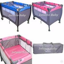 Berço Cercado Bebê Compacto Baby Style