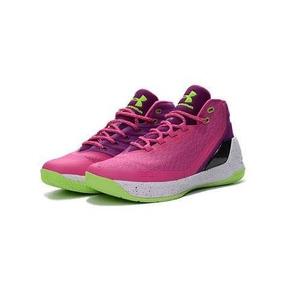Under Armour Curry 3zero Pink Gs 24 Mx Kd Jordan Lebron Nike