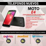 Celular Moto E4 Con Sensor De Huella