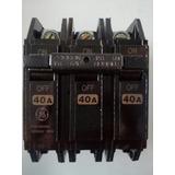 Breker 3x40 Y 3x20 Thqc Sobreponer. General Electric