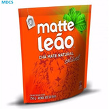 Chá Mate Natural Solúvel 250g Solúvel - Matte Leão - Faz 50l