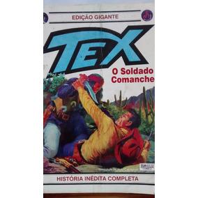 Tex O Soldado Comanche - Quadrinhos- Br E Pr - Colecionador