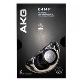 Fone Akg K414p Original +bolsa Ks Novo K414 Loja Kadu Som