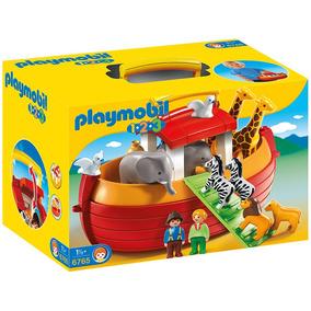 1,2,3 Maletin Arca De Noe Playmobil