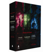 Mestres Do Terror-drácula, Frankenstein, Médico E O Monstro