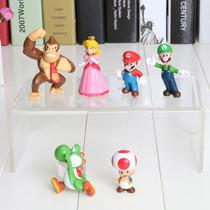 Mini Bonecos Super Mário Bros. Donkey Kong Princesa Toad