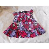 Vestido Infantil Tricoline Estampada Carters Original Tam 2