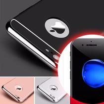 Funda De Lujo Cromo Iphone 7p + Protector Pantalla Nano