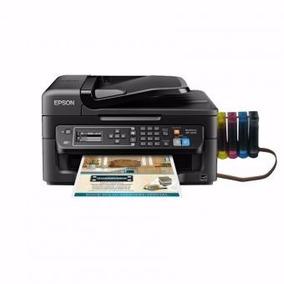 Impresora Multi Epson Wf 2630 + Sistema Continuo Sublimacion