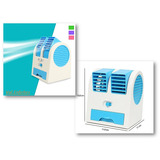 Mini Ar Condicionado Portátil Usb C/aroma - Azul/lilás/verde