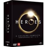 Heroes Box Série Completa - 21 Dvds - Novo E Lacrado (2015)
