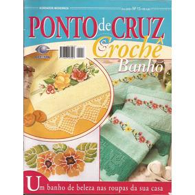 Revista Ponto De Cruz E Crochê Banho Nº13