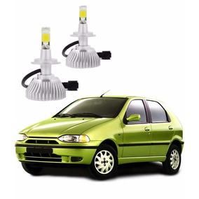 Kit Lâmpada Led H4 Fiat Palio Farol Alto 8000 Lm 1996 A 2000