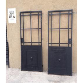 Aberturas puertas exteriores hierro en mercado libre argentina - Puertas de hierro para patios ...