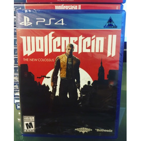 Wolfenstein 2 The New Colossus- Ps4- Físico- Nuevo- Sellado