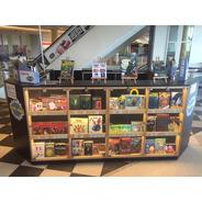 Stand Góndola Shopping - Estantes Con Puertas De Vidrio