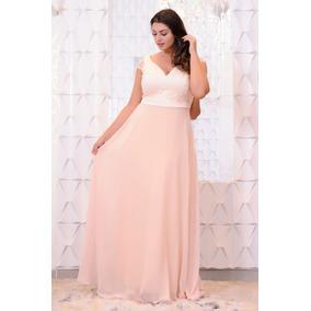 Vestido De Festa/pluz Size/madrinha/casamento-p/entrega