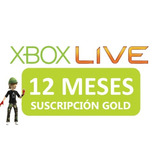 Xbox Live Gold 12 Meses Oferta