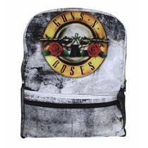 Mochila Guns N Roses Branca