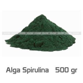 Alga Espirulina Spirulina En Polvo 500 Gramos Envio Gratis