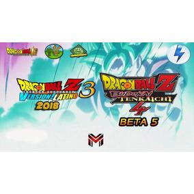 Dragon Ball Z Collection Budokai Tenkaichi 3+4 Mods 18 Ps2