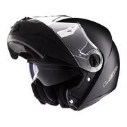 Casco Moto Rebatible Ls2 370 Brillo Doble Visor Solomototeam