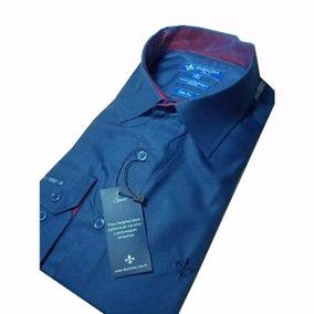 Camisa Social Dudalina Modelo Slim Fit - Masculina