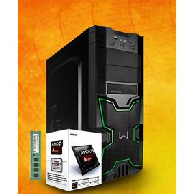 Pc Gamer A4-6300 Hd 250gb 4gb Mem