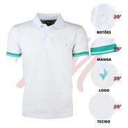Camisa Gola Polo Premium Super Macia Punho E Colarinho Firme