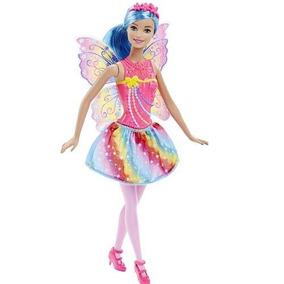 Barbie Dreamtopia Surtido De Hadas Falda Arcoiris Y Top Rosa