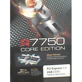 Tarjeta De Video 2 Gb Radeon 7750 Core Edition 3.0