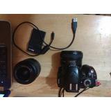 Camara Nikon 3200 24 Mpx Con Dos Lentes 1.8