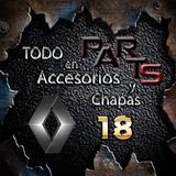 Paragolpes Trasero 86/90 Gtx Break Renault 18 Y Mas...