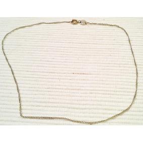Cadena Finita Vanesa Duran Oro Blanco Gold Filled 14k 40cm